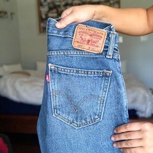 levi's 505 denim jeans